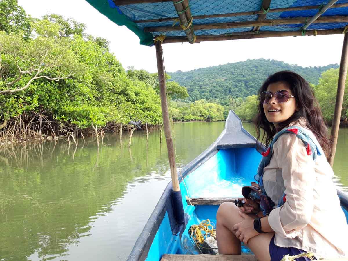 Anisha Victor in Goa Pic 2