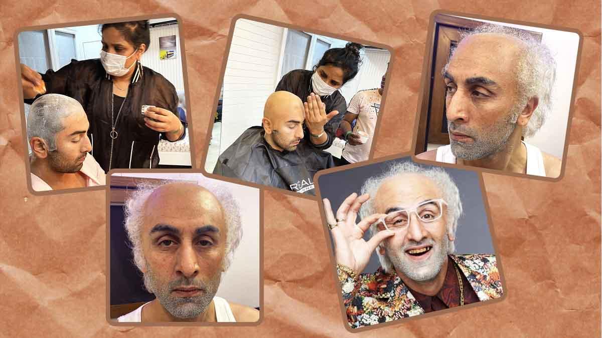 Preetisheel Singh with Ranbir Kapoor Collage 2