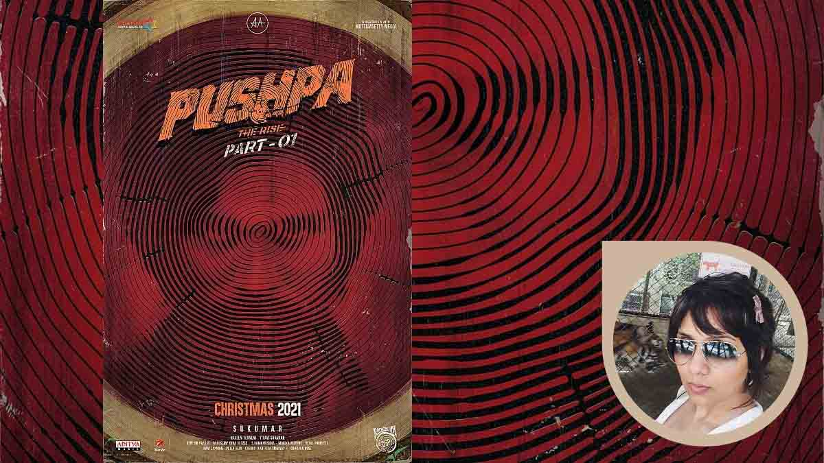 A still from Pushpa The Rise. Inset Ace makeup and prosthetic character designer Preetisheel Singh Dsouza. Pic 3
